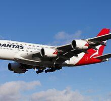 Qantas Airbus A380 by DavidHornchurch