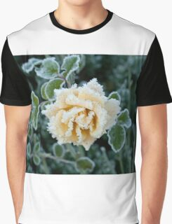 Rose and Frost Graphic T-Shirt