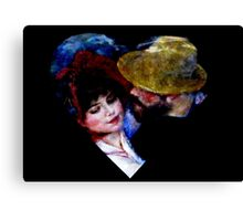 Dance At Bougival, Renoir Canvas Print