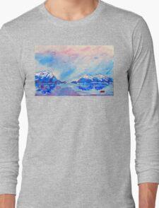 winter highlands - scotland  Long Sleeve T-Shirt