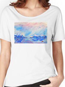 winter highlands - scotland  Women's Relaxed Fit T-Shirt