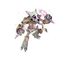 Pokemon Fusion - Alakazam & Gengar Photographic Print