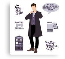 11 Doctor  Canvas Print