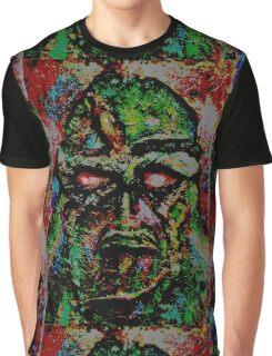 Swamp Monster Comic Graphic T-Shirt