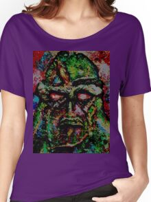 Swamp Monster Comic Women's Relaxed Fit T-Shirt