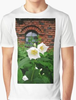 Twin Flowers Graphic T-Shirt