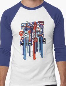 melting faces UK Men's Baseball ¾ T-Shirt