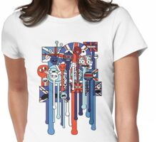 melting faces UK Womens Fitted T-Shirt