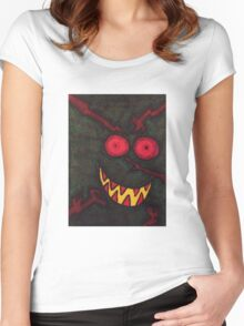 Watcher In The Woods Women's Fitted Scoop T-Shirt