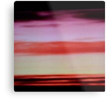 Sunset cloud bands Metal Print