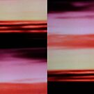 Sunset cloud bands by armadillozenith