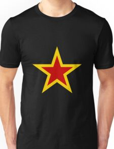 Soviet Air Force Fighter Star (1941-1945) Unisex T-Shirt