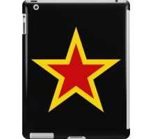 Soviet Air Force Fighter Star (1941-1945) iPad Case/Skin
