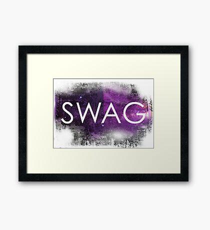 Hipster SWAG Framed Print
