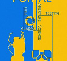 Portal - Aperture Science by DeanDavido