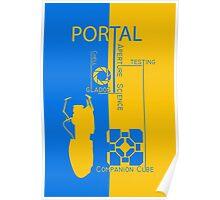 Portal - Aperture Science Poster