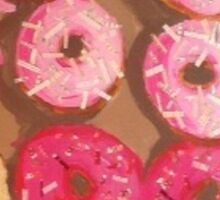 Pink Doughnuts Sticker