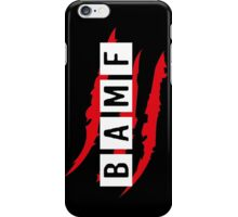 #BAMF iPhone Case/Skin