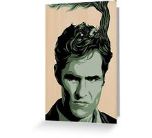 True Detective, Rust Cohle #3 Greeting Card