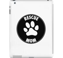 RESCUE MOM - CIRCLE iPad Case/Skin