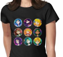 Senshi Circles Womens Fitted T-Shirt