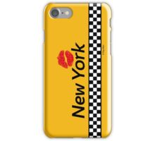 TAXI of New York, New York iPhone Case/Skin