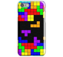 Tetris Making Tetris Fall iPhone Case/Skin