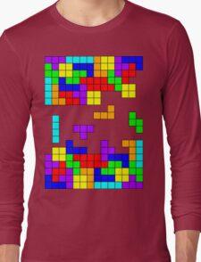 Tetris Making Tetris Fall Long Sleeve T-Shirt