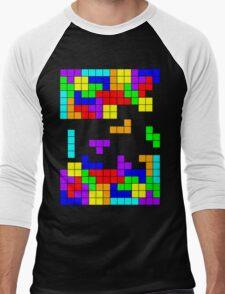 Tetris Making Tetris Fall Men's Baseball ¾ T-Shirt