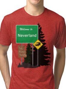 Neverland signs Tri-blend T-Shirt