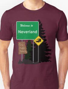 Neverland signs Unisex T-Shirt