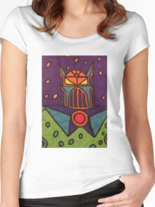 The Great Cosmic Something Women's Fitted Scoop T-Shirt