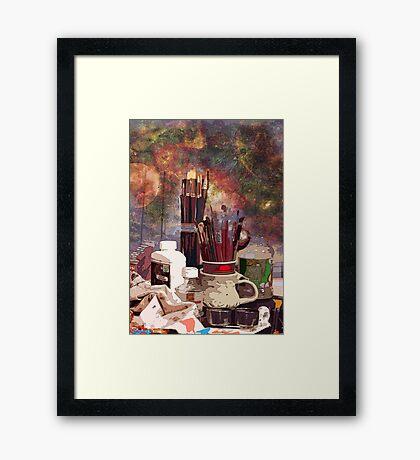 The Master Artist Framed Print