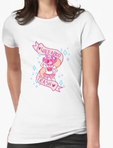 Weeaboo Trash Womens Fitted T-Shirt