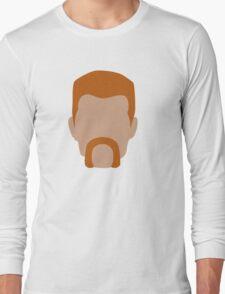 Abraham Ford / Flat Design Long Sleeve T-Shirt