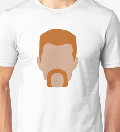 Abraham Ford / Flat Design Unisex T-Shirt