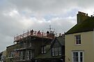 Up on the roof...Lyme Regis Dorset UK by lynn carter
