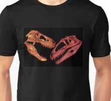 Epic fight in a prehistoric lost world Unisex T-Shirt