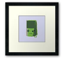 Game Boy Color, Kiwi Framed Print