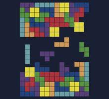 Tetris Making Tetris Fall One Piece - Short Sleeve