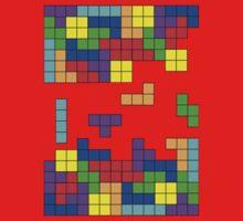 Tetris Making Tetris Fall Baby Tee