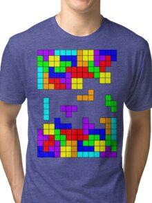 Tetris Making Tetris Fall Tri-blend T-Shirt