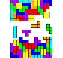 Tetris Making Tetris Fall Photographic Print