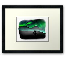 Link's View Framed Print