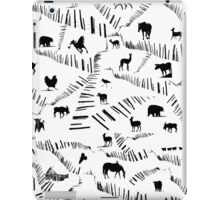 Animals on a Winter Day  iPad Case/Skin