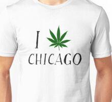 I Love Chicago Weed T-Shirts Unisex T-Shirt
