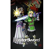 MasterSword Chronicles - Zelda/Xenoblade Crossover Photographic Print