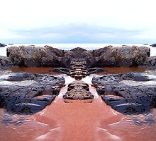Reflection of Short Rock by Phil Perkins