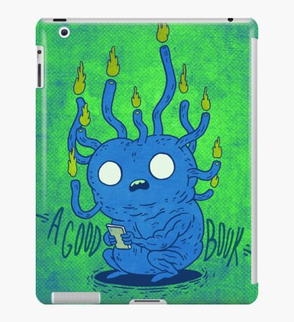 Book Grub iPad Case/Skin