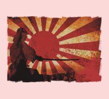 Samurai Sun One Piece - Long Sleeve